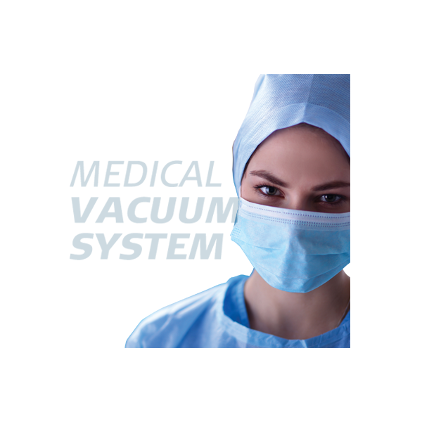 Medicininio vakuumo stotys