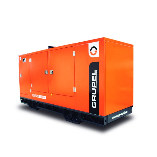 Grupel Baudouin Generator 330kVA