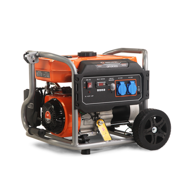 Portable gasoline generator Grupel GR3000 3kW