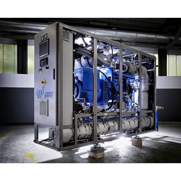 ENERGIN gas generator M08 CHP B260 BG