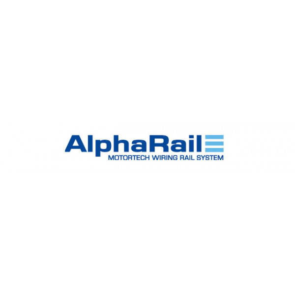 MOTORTECH AlphaRail Wiring Rail System for Temperature Control