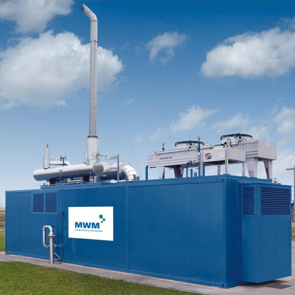 MWM gas generator TCG 3016 V08 BG