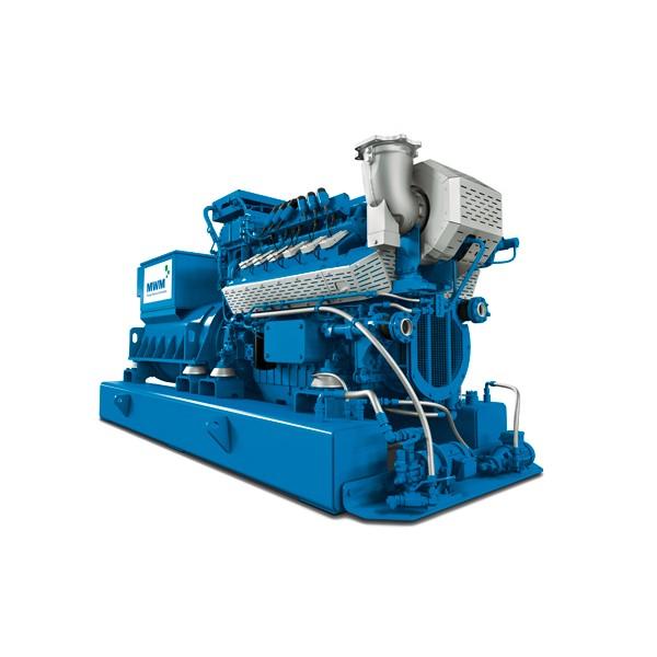 MWM dujinis generatorius TCG 3016 V12 N